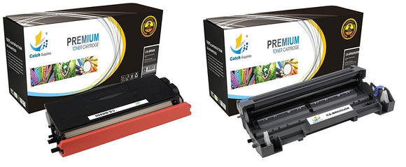 Catch Supplies Replacement Combo pack of 1 TN650 Jumbo Yield Toner Cartridge and 1 DR620 Drum Unit