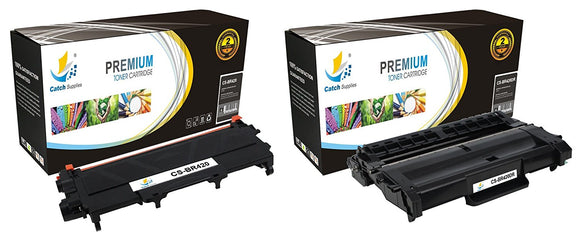 Catch Supplies Replacement Combo pack of 1 TN420 Toner Cartridge and 1 DR420 Drum Unit
