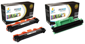 Catch Supplies Replacement Combo pack of 2 TN1060 Toner Cartridges and 1 DR1060 Drum Unit