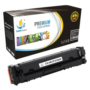 Catch Supplies Replacement HP 204A-CF510A Standard Yield Toner Cartridge