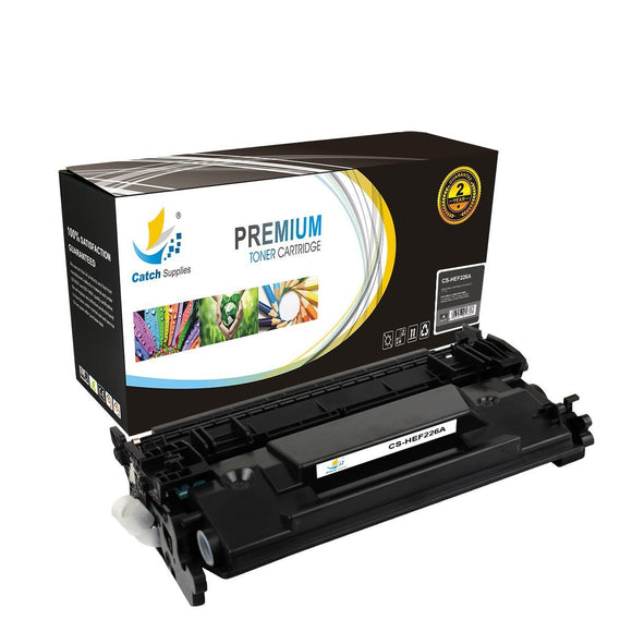 Catch Supplies Replacement CF226A – 26A Black Toner Cartridge