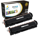 Catch Supplies Replacement HP CF410A Standard Yield Laser Printer Toner Cartridges - Two Pack