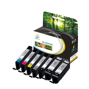 Catch Supplies Replacement Canon PGI-270, CLI-271 High Yield Ink Cartridge - 7 Pack