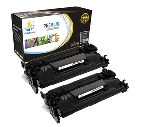 Catch Supplies Replacement HP CF226A Standard Yield Black Toner Cartridge Laser Printer Toner Cartridges - Two Pack