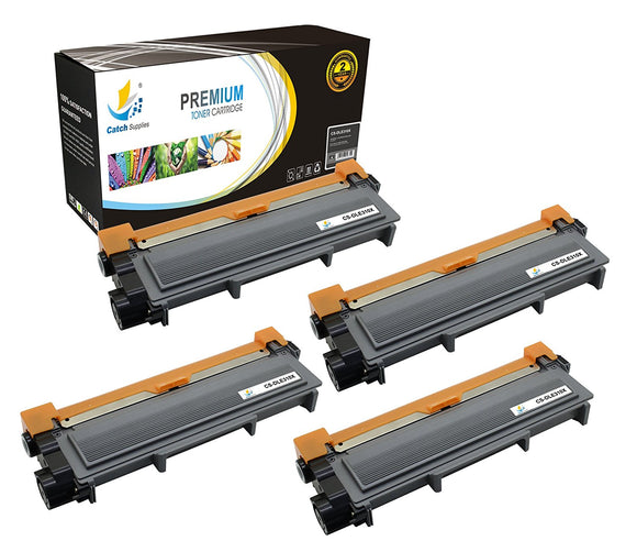 Catch Supplies Replacement Dell E310X Standard Yield Toner Cartridge - 4 Pack
