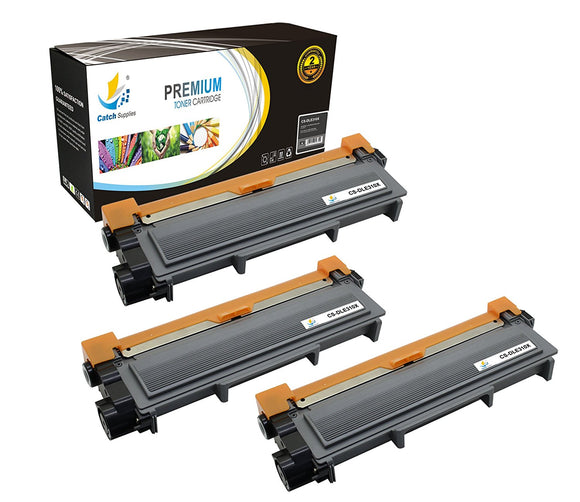 Catch Supplies Replacement Dell E310X Standard Yield Toner Cartridge - 3 Pack