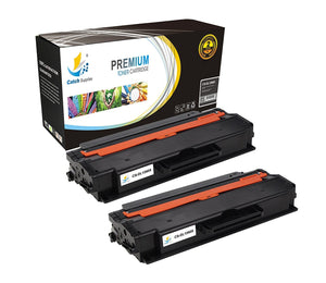Catch Supplies Replacement Dell 331-7328 Standard Yield Laser Printer Toner Cartridges - Two Pack