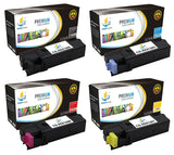 Catch Supplies Replacement Xerox 106R01455,106R01452,106R01453,106R01454 Standard Yield Laser Printer Toner Cartridges - Four Pack