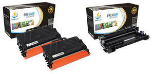 CATCH SUPPLIES 3 TN850 TONER AND DR820 DRUM REPLACEMENT 4 PACK