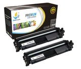 Catch Supplies Replacement HP HP-17A Standard Yield Toner Cartridge - 2 Pack