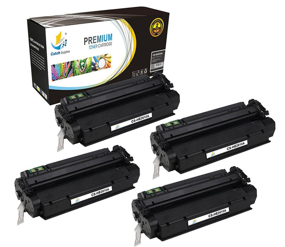 Catch Supplies Replacement HP Q2610A Standard Yield Laser Printer Toner Cartridges - Four Pack