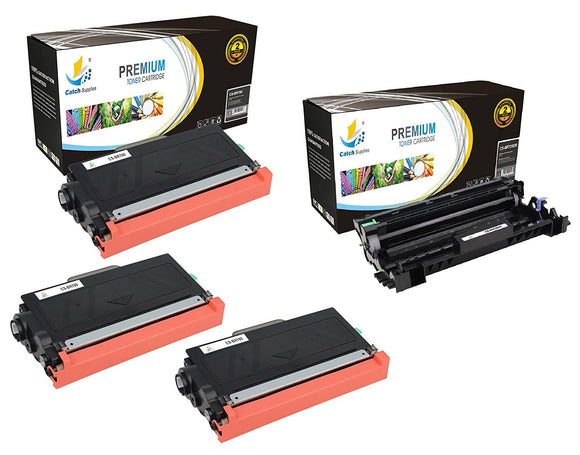 Catch Supplies Replacement Combo pack of 3 TN780 Toner Cartridges and 1 DR720 Drum Unit