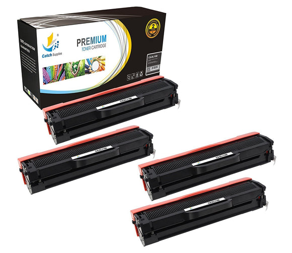 Catch Supplies Replacement Dell 331-7335 Standard Yield Laser Printer Toner Cartridges - Four Pack