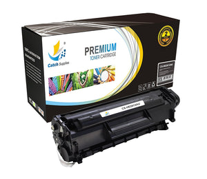 Catch Supplies Replacement HP Q2612A Standard Yield Toner Cartridge
