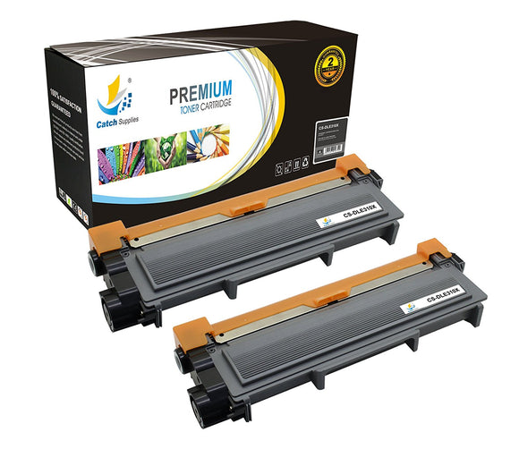Catch Supplies Replacement Dell E310X Standard Yield Toner Cartridge - 2 Pack
