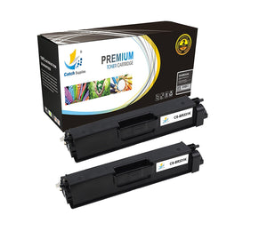 Catch Supplies Replacement Brother TN-331BK Standard Yield Laser Printer Toner Cartridges - Two Pack