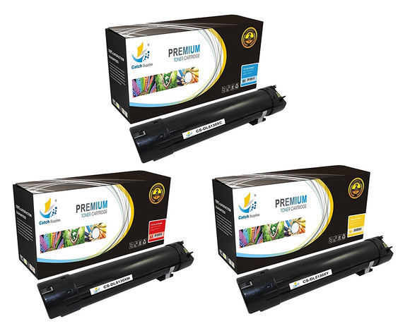 Catch Supplies Replacement 5130 Toner Cartridge 3 Pack Color Set