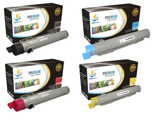 Catch Supplies Replacement Xerox 106R01217,106R01214,106R01215,106R01216 Standard Yield Laser Printer Toner Cartridges - Four Pack