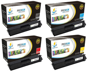 Catch Supplies Replacement Brother TN-315BK, TN-315C, TN-315M, TN-315Y Standard Yield Laser Printer Toner Cartridges - Four Pack