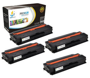 Catch Supplies Replacement B1260 Black Toner Cartridge 4 Pack