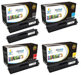 Catch Supplies Replacement Brother TN-331BK, TN-331C, TN-331M, TN-331Y Standard Yield Laser Printer Toner Cartridges - Five Pack