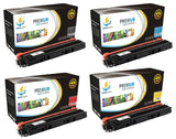 Catch Supplies Replacement Brother TN-210BK, TN-210C, TN-210M, TN-210Y Standard Yield Laser Printer Toner Cartridges - Four Pack