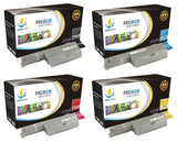 Catch Supplies Replacement Dell 310-7890,310-7892,310-7894,310-7896 Standard Yield Laser Printer Toner Cartridges - Four Pack