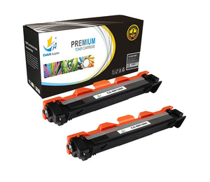 Catch Supplies Replacement Brother TN-1060 Standard Yield Laser Printer Toner Cartridges - Two Pack