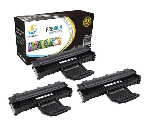 Catch Supplies Replacement PE220 ( 013R00621 ) Black Toner Cartridge 3 Pack