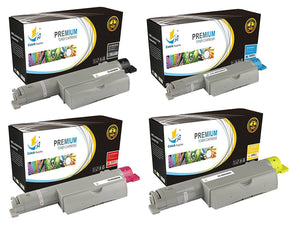 Catch Supplies High Yield Replacement 6360 Toner Cartridge 4 Pack Set
