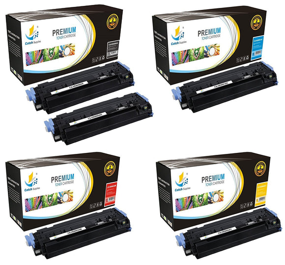 Catch Supplies Replacement 124A Toner Cartridge 5PK Set