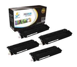 Catch Supplies Replacement Canon 1491A002AA Standard Yield Laser Printer Toner Cartridges - Four Pack