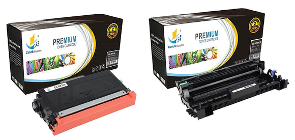 Catch Supplies Replacement Combo pack of 1 TN750 Toner Cartridge and 1 DR720 Drum Unit