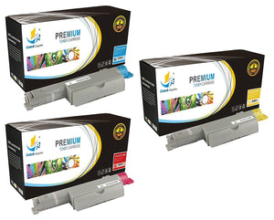 Catch Supplies High Yield Replacement 5110 Toner Cartridge 3 Pack Color Set