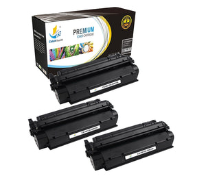 Catch Supplies Replacement Q2613A Black Toner Cartridge 3 Pack
