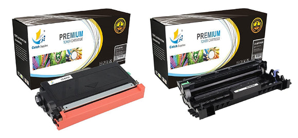 Catch Supplies Replacement Combo pack of 1 TN720 Toner Cartridge and 1 DR720 Drum Unit