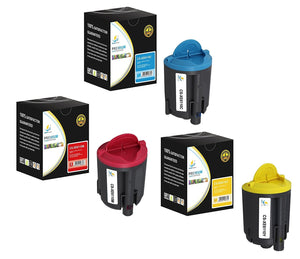 Catch Supplies Replacement 6110 Toner Cartridge 3 Pack Color Set