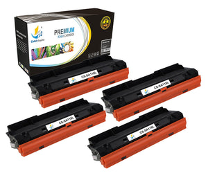 Catch Supplies Replacement Samsung MLT-D118L High Yield Black Toner Cartridge Laser Printer Toner Cartridges - Four Pack