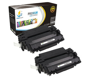 Catch Supplies Replacement Q6511X Black Toner Cartridge 2 Pack