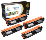 Catch Supplies Replacement HP HP-30X Standard Yield Toner Cartridge - 4 pack