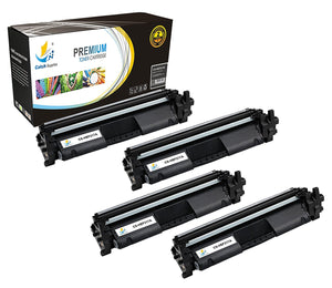 Catch Supplies Replacement HP HP-17A Standard Yield Toner Cartridge - 4 Pack