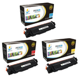 Catch Supplies Replacement Canon 046HC,046HM,046HY High Yield  Toner Cartridge - 3 Pack