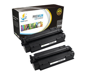 Catch Supplies Replacement C7115X Black Toner Cartridge 2 Pack