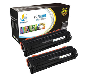 Catch Supplies Replacement Samsung CLT-K506L High Yield Black Toner Cartridge Laser Printer Toner Cartridges - Two Pack