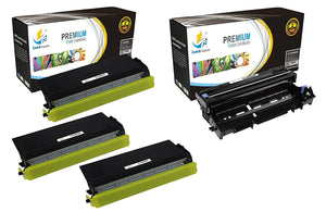 Catch Supplies Replacement Combo pack of 3 TN460 Toner Cartridges and 1 DR400 Drum Unit