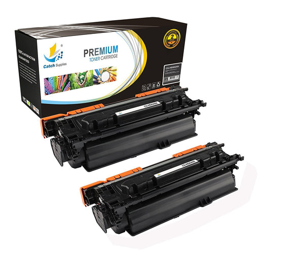 Catch Supplies Replacement HP CF330X High Yield Black Toner Cartridge Laser Printer Toner Cartridges - Two Pack