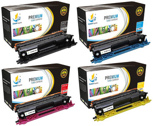 Catch Supplies Replacement TN115 Toner Cartridge 4 Pack Set