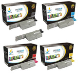 Catch Supplies Replacement Dell 310-7889,310-7891,310-7893,310-7895 High Yield Toner Cartridges Laser Printer Toner Cartridges - Five Pack