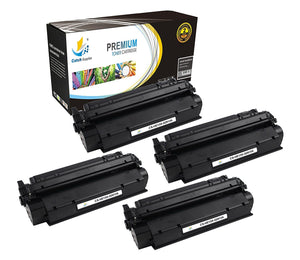 Catch Supplies Replacement HP Q2613A Standard Yield Laser Printer Toner Cartridges - Four Pack
