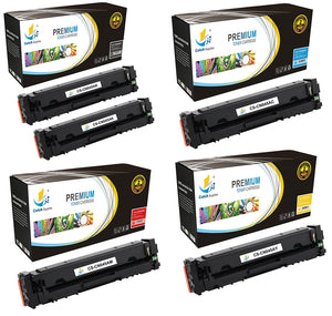 Catch Supplies Replacement Canon 045K, 045C, 045M, 045Y  Standard Yield Toner Cartridge - 5 Pack